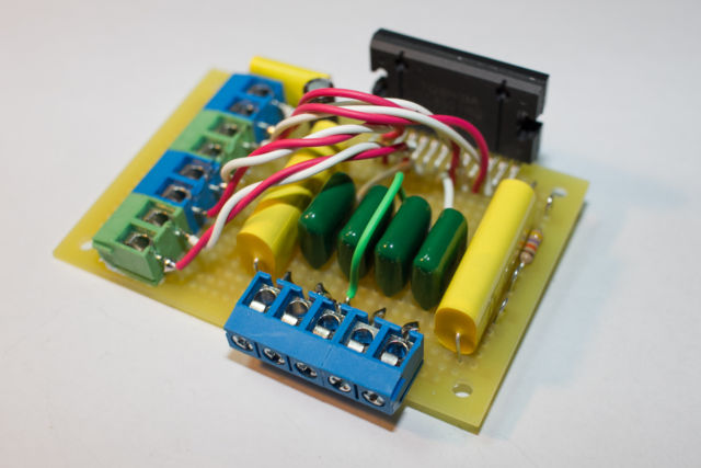 50W級パワーアンプを作る TCB501HQ編