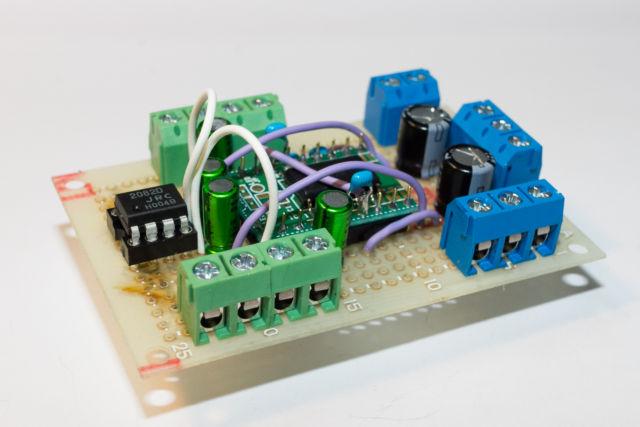 Arduino Unoで電子ボリューム(LM1972M)を動かす