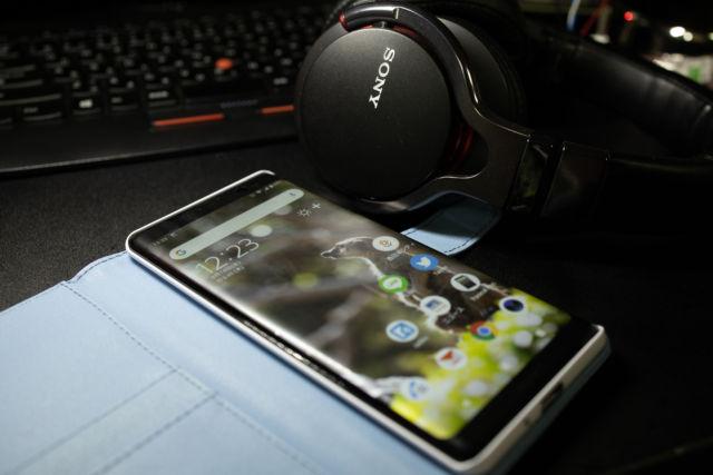 スマートフォン買いました。SONY XPERIA XZ3